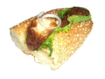 【レアールパスコベーカリーズ】 若鶏の油淋鶏ソースサンド