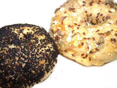 【お取り寄せパン】べーグルUとブラウニーのさつまいもべーグル食べ比べ